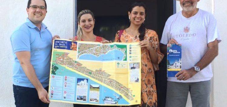 Santuário Nacional lança mapa turístico de Anchieta