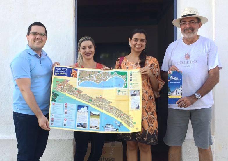 Mapa Foto: Divulgação Santuário Nacional.
