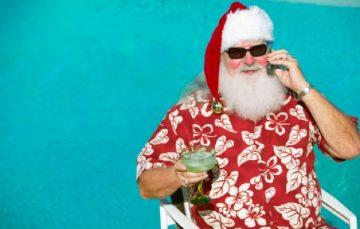 Depois do Natal, Papai Noel vai passar as férias e Réveillon em Guarapari