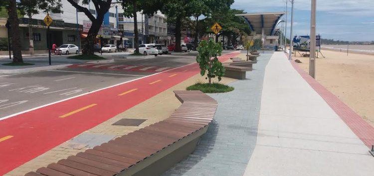Prefeitura de Anchieta inaugura a nova orla da Praia Central