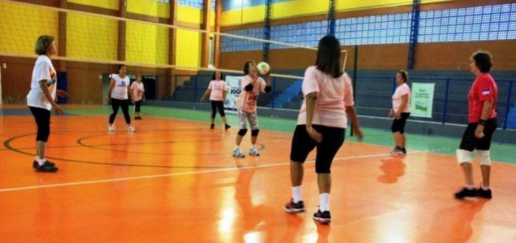 Guarapari recebe torneio de voleibol da 3ª idade neste domingo (4)