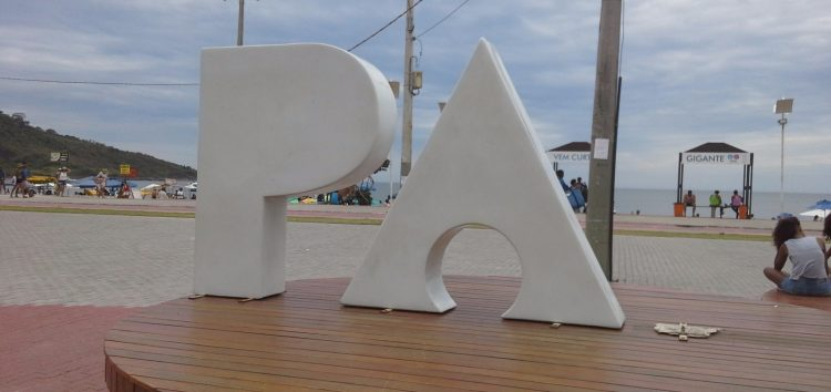 Monumento da Praça da Paz sofre ato de vandalismo