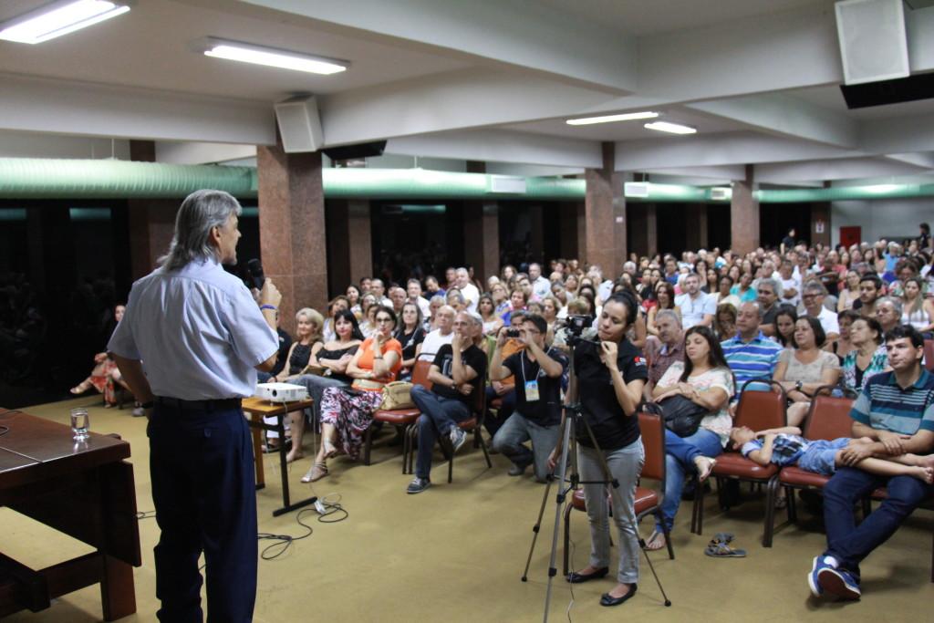 Expectativa é receber de 2.400 a 2.800 pessoas, somando os sete dias de evento. Foto: Divulgação 21ª Semana Espírita.