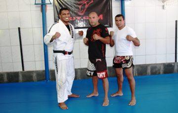 De Dubai, feras do MMA encontram o mestre em Guarapari