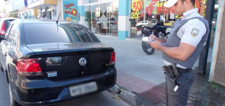 Polícia Militar suspende aplicações de multas até que prefeitura faça convênio