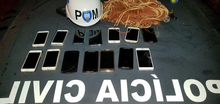 Polícia Civil recupera 27 celulares roubados durante show em Guarapari