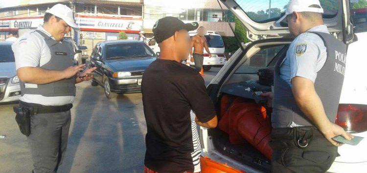 Motorista é pego duas vezes dirigindo bêbado em Guarapari
