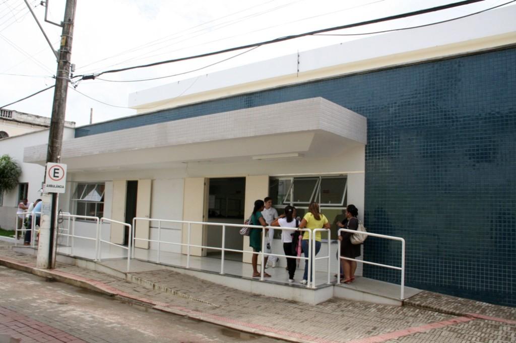 O Hospital funciona no bairro Porto de Cima e atende diversas demandas do município e região. Foto: Renan Alves - PMA
