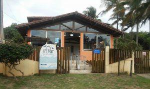 O IPCMar fica na Praia de Guanabara. Foto: Divulgação.