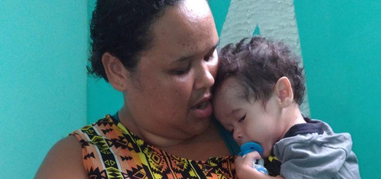 Menino de Guarapari com quase 3 anos e corpo de recém-nascido intriga médicos