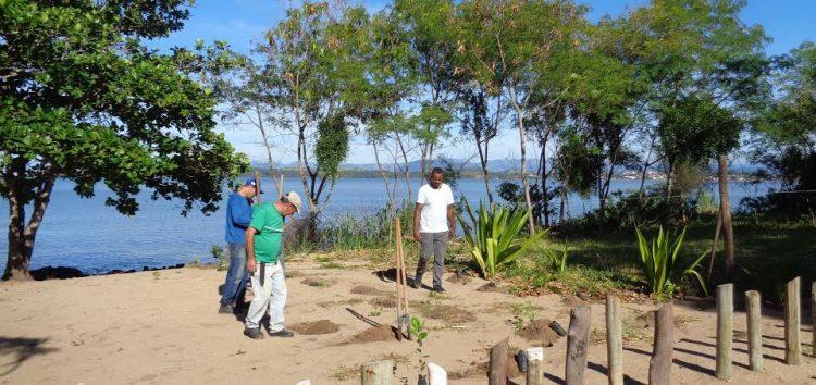 Prefeitura de Anchieta recupera áreas e pede apoio à população