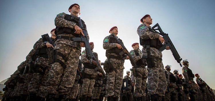 Força Nacional chega ao Espírito Santo nesta segunda com reforço de 200 homens