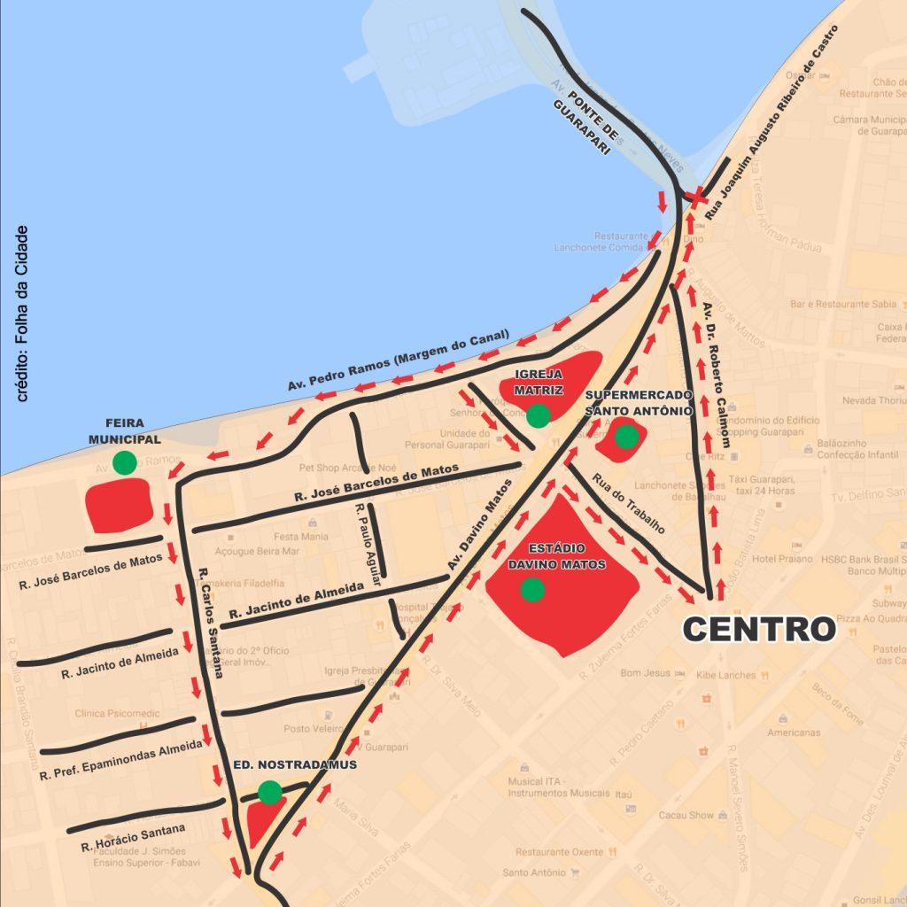 Mapa-Canal
