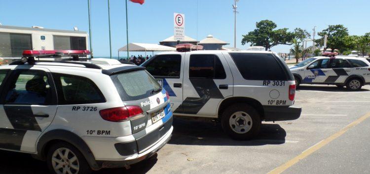 Blitz e reforço no policiamento a partir de hoje (26) em Guarapari