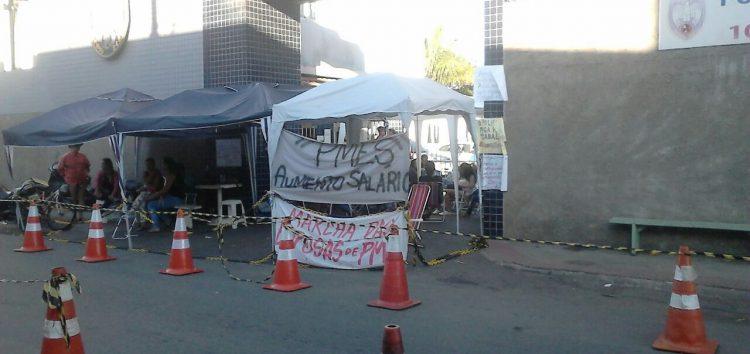 Nada de Polícia Militar nas ruas de Guarapari neste sábado