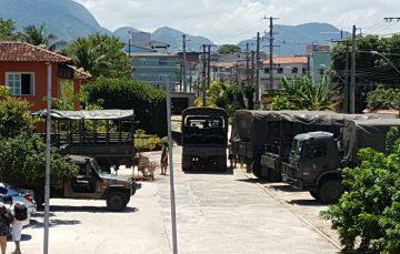 Ministro da Defesa garante forças armadas no Estado e Guarapari recebe reforço
