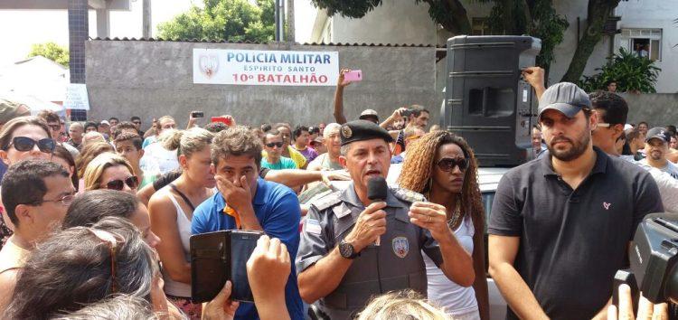 Novo Ten. Coronel da PM garante policiamento em Guarapari hoje