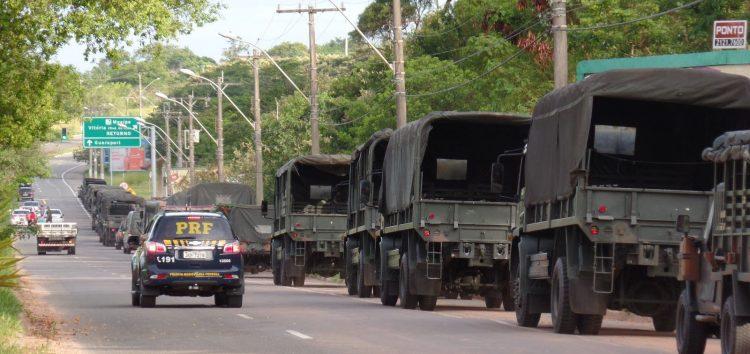 Força Nacional e Exército chegam em Guarapari nesta quarta, diz secretário de segurança
