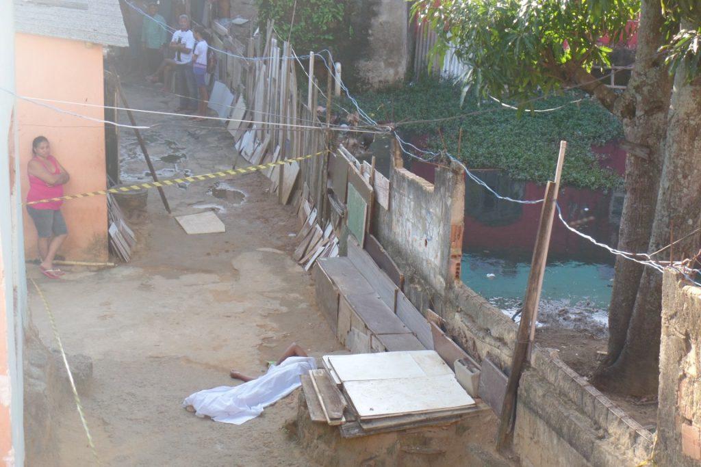 O jovem foi morto em um local conhecido como carroça. Foto: João Thomazelli/Folha da Cidade
