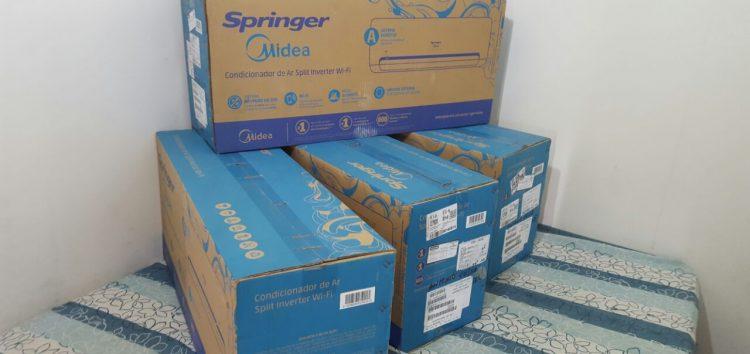 Delegacia Patrimonial de Guarapari recupera aparelhos de ar-condicionado em apartamento de luxo