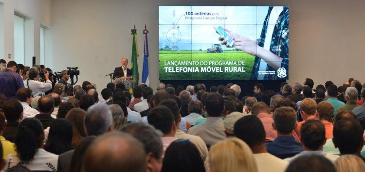 Governo vai instalar 100 antenas de telefonia móvel na área rural do Estado