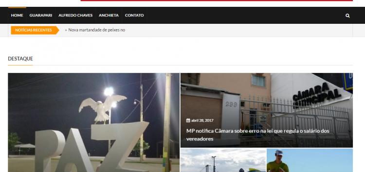Folha Online.esé a mais nova plataforma de notícias de Guarapari