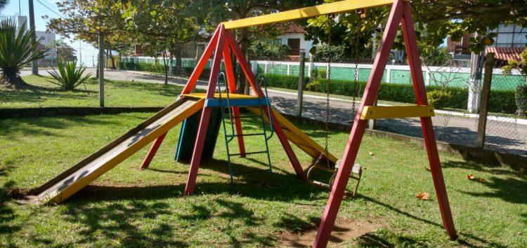 Abandono de praça em Nova Guarapari  é motivo de revolta em moradores