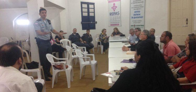 Violência e videomonitoramento são debatidos em reunião da Repas em Guarapari