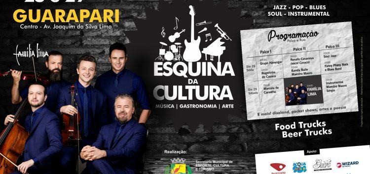 Mais um fim de semana cultural com diversos shows gratuitos em Guarapari