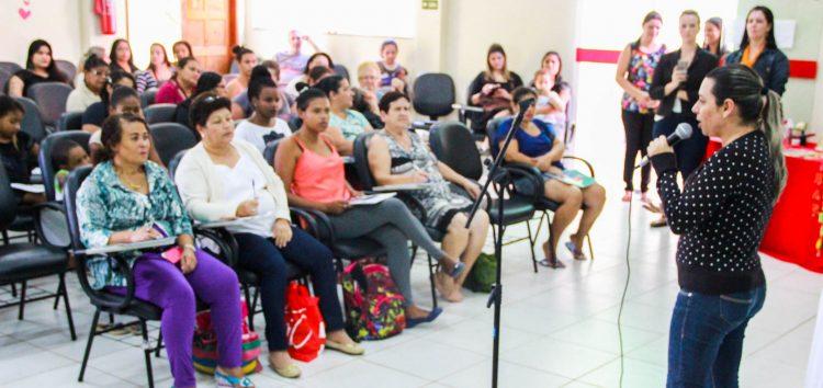 Mulheres participaram de oficina sobre empreendedorismo