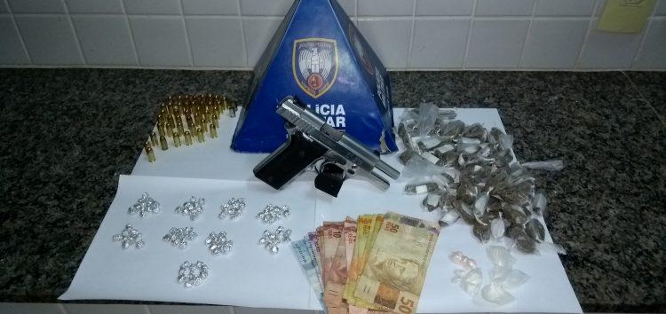 Polícias Civil e Militar fazem operação para deter traficantes em guerra em Guarapari