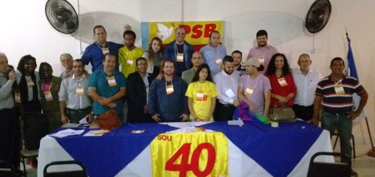 Congresso Municipal do PSB elege membros da executiva do partido e movimentos sociais