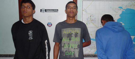 Três irmãos são presos por tráfico de drogas em Guarapari