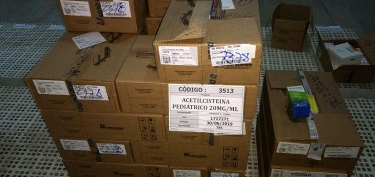 Medicamentos começam a chegar em Guarapari