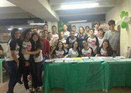 Extracenter recebe alunos da escola Ignez Massad Cola para mostra literária