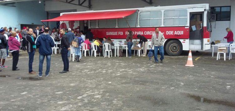 Solidariedade na veia: doação de sangue envolveu mais 200 pessoas em Guarapari