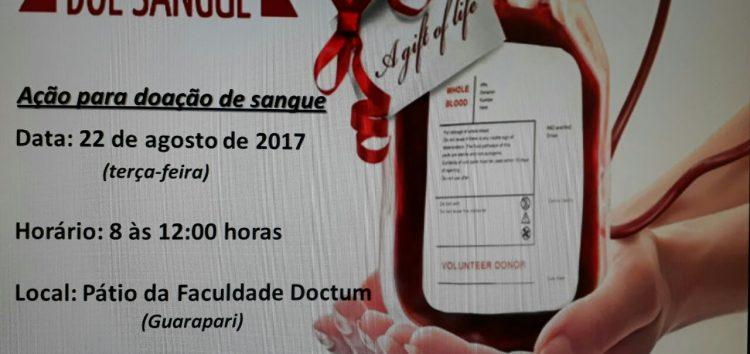 HFA e Doctum realizam mutirão de doação de sangue em Guarapari