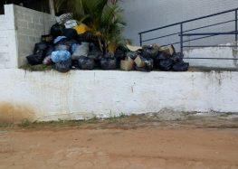 """""""Pedimos um reajuste de 12% mas eles não saíram dos 4,97%"""", disse Wanderley Gonçalves, presidente do Sintrovig sobre paralisação da coleta de lixo em Guarapari"""