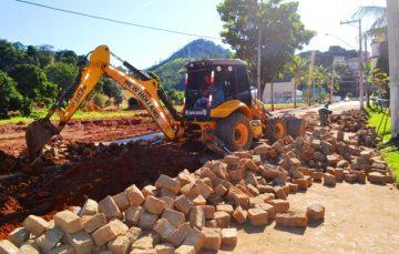 Prefeitura de Alfredo Chaves realiza obras de urbanização visando a qualidade de vida