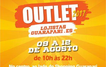 Preços baixos até amanhã (12) no III Outlet Lojistas de Guarapari atraem consumidores