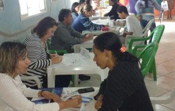 Bolsa de Serviços realiza 120 atendimentos em bairro de Anchieta