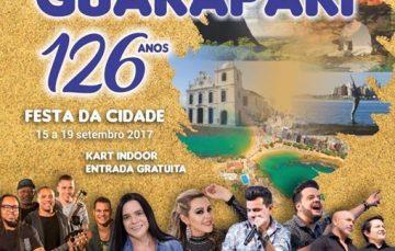 Festa da Cidade conta com programações variadas em Guarapari