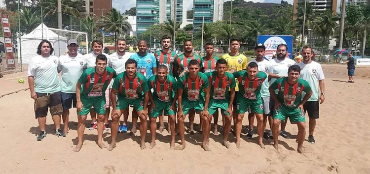 Anchieta classificado para final do Estadual de Beach Soccer