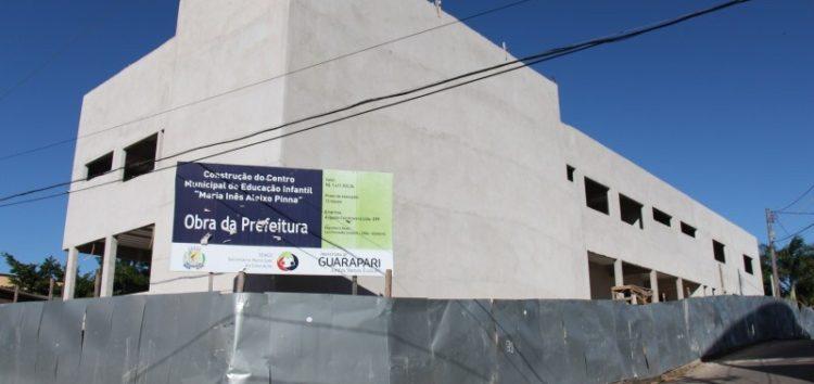 Depois de três anos parada obra da creche Maria Inês Aleixo Pina pode ser retomada em novembro