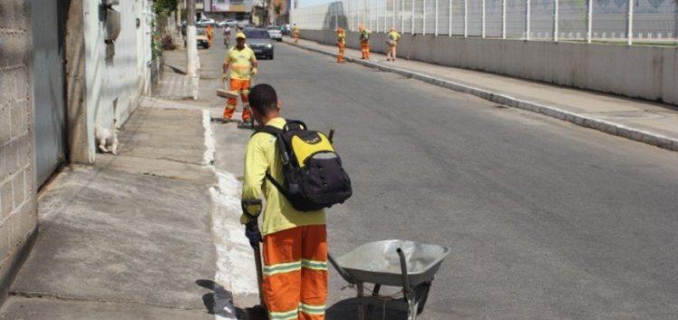 Codeg realiza mutirão de limpeza em Muquiçaba