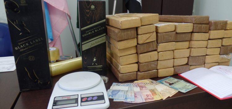 Homem é preso com 40 quilos de maconha em Guarapari
