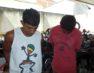 Dupla é presa com moto roubada e arma falsa em Guarapari