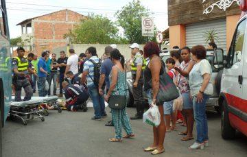 Ciclista é atropelado por ônibus em Guarapari