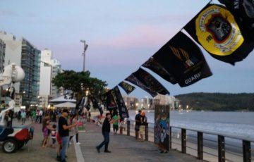 Motociclistas lamentam ordem de retirada das bandeiras dos moto clubes em Guarapari