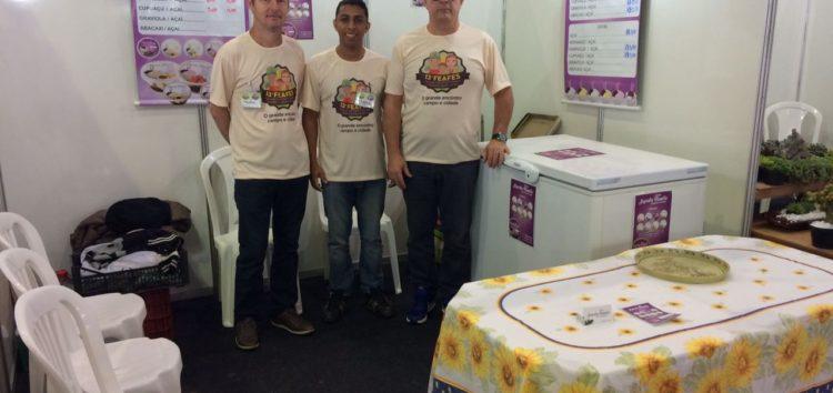 Açaí produzido em Alfredo Chaves se destaca na 13ª Feira de Agricultura do ES